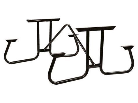 picnic table frame kit steel frame kit for 6 ft picnic table with welded 1 5 8