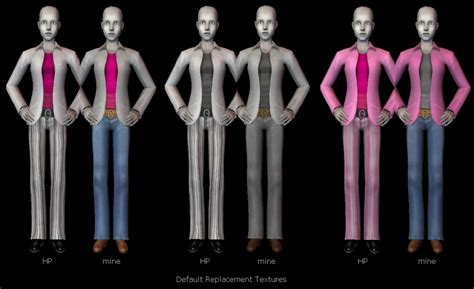 Jaket Evil Geniuses mod the sims jacket for adults defaults recolors