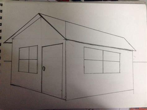 ways  draw  simple house wikihow