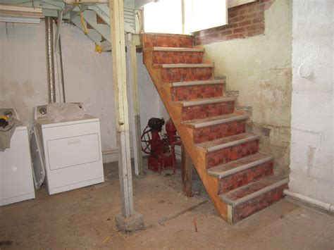 Basement Waterproofing Adventures In Remodeling How To Make Basement Stairs