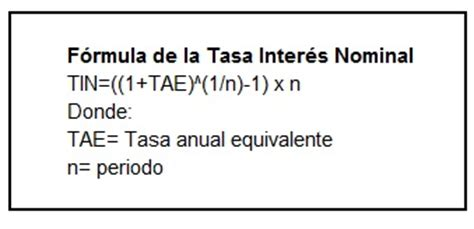 interes tin y tae tasa nominal is lm