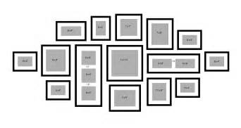 photo wall collage template for your home 171 framemakers