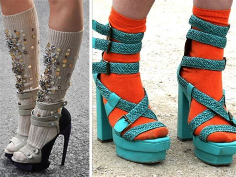 socks with sandals trend 10 fashion trends alldaychic