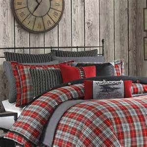 Gray Twin Duvet Cover Design Studio B Seeing Plaid