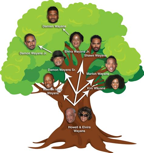 Tree Family the wayans explayaned sense of the frankly