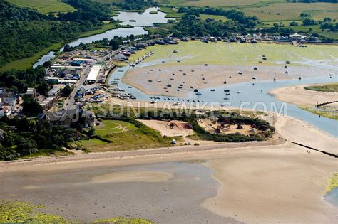 aerial view bembridge harbour isle of wight jason hawkes