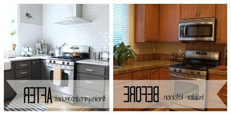 kitchen cabinet refinishing before and after refinishing kitchen cabinets before and after photos