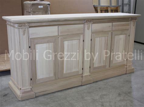 mobili lavelli credenza in legno grezzo