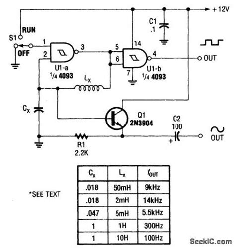 inductor capacitor oscillator circuit oscillator inductor capacitor 28 images colpitts oscillator using transistor circuit diagram