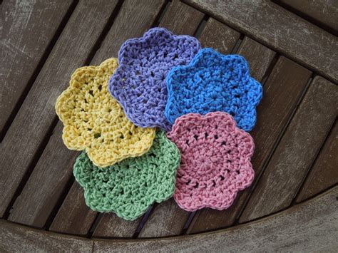 crochet patterns free and easy quick easy coasters free crochet pattern