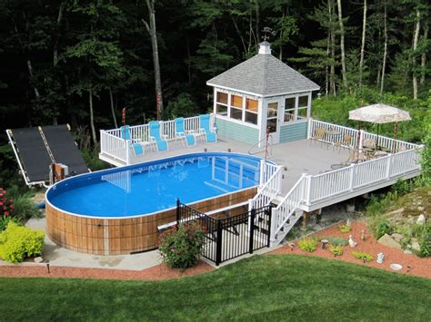 How Much Does A Backyard Fence Cost Hidden Water Pool Cost Vs Above Ground Pool Cost