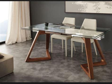 tavoli vetro prezzi tavolo allungabile vetro con gambe legno massello prezzo
