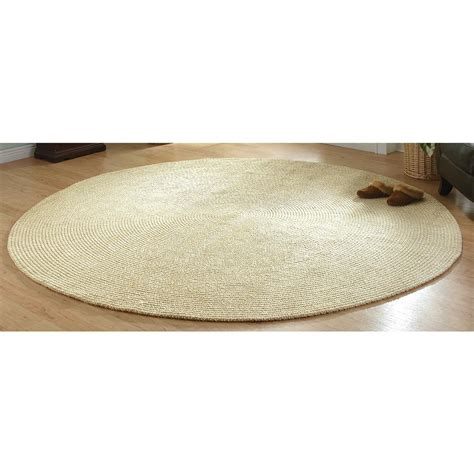 Oval Braided Rugs 5x8 by Chenille Braided Rug 5x8 Oval 185302 Rugs At