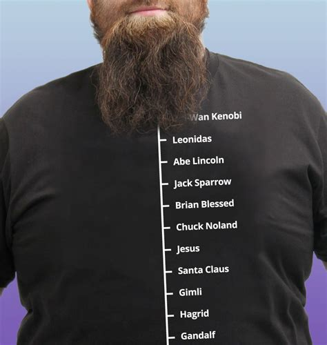 how to measure your beard beard like t shirt famous facial hair tee mens beard