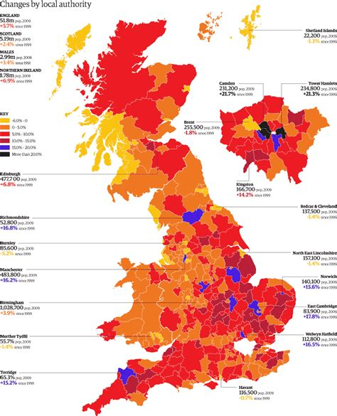 uk population estimates how many people live in each