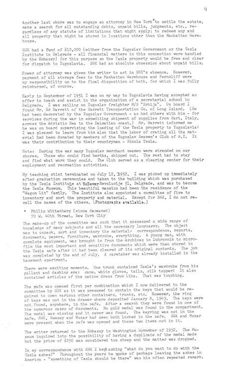 Nikola Tesla Research Paper Plaque Erected On Nikola Tesla S Room 3327 In Hotel New