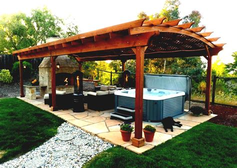 Outdoor Gazebo Designs Landscaping Ideas For Backyard Small Backyard Pergola Ideas
