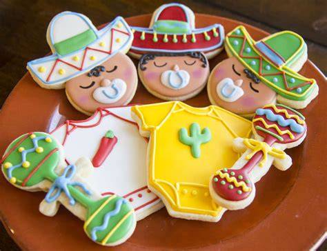 Cinco Shower by Cinco De Mayo Baby Shower Cookie Connection