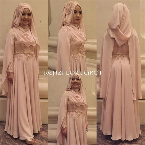 Baju Muslimah Butik Qonita tren model baju pengantin 2016