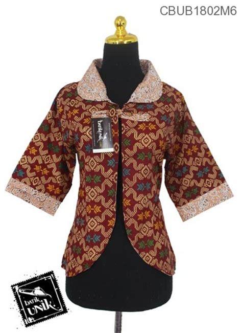 Batik Rompi Bolak Balik Nc baju batik bolero bolak balik motif songket kombinasi bunga rompi bolero murah batikunik