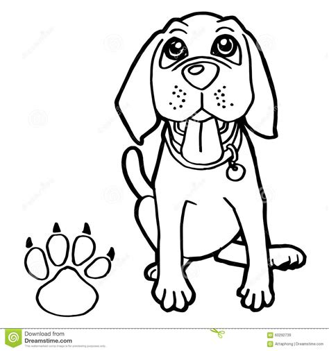 coloring pictures of dog paws dog paw coloring page