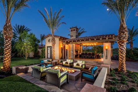 sunken sitting area patio mediterranean with lawn