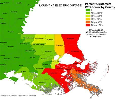 louisiana hurricane map iser hurricane