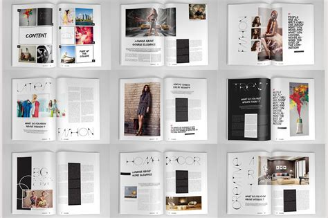 20 Premium Magazine Templates For Professionals Inspirationfeed Magazine Layout Template