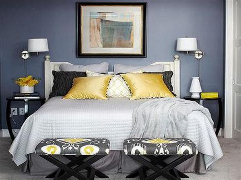 Blue Grey Yellow Bedroom gray blue yellow bedroom