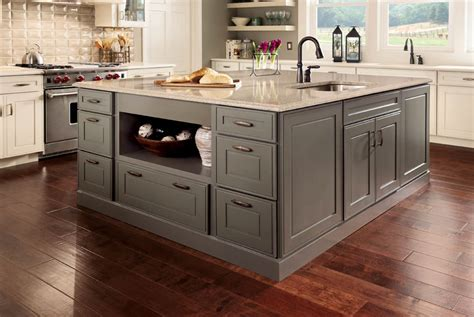 kraftmaid kitchen island kitchen and bath blab modern supply s kitchen bath