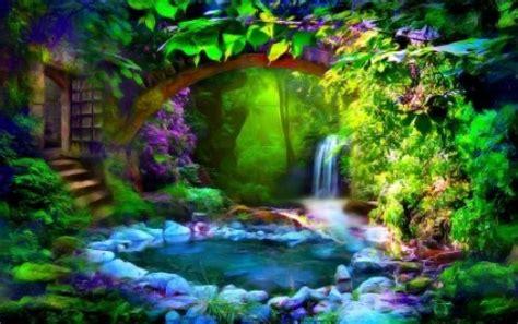 The Secret Garden Garden Magical Magic Pond Magical Flower Garden