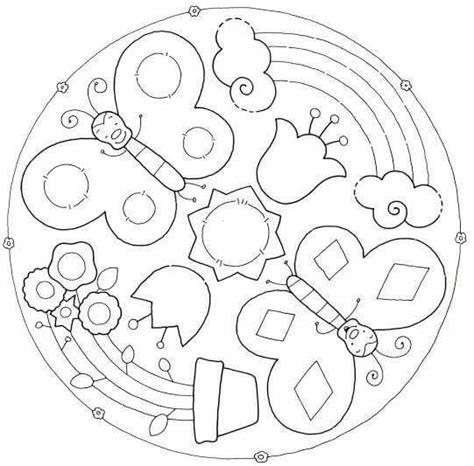 preschool easter egg mandala coloring 4 171 funnycrafts fun mandala coloring pages 4 171 preschool and homeschool