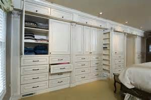 Bedroom Closet Cabinets Master Bedroom Cabinetry Traditional Closet Chicago
