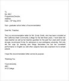 Student Teacher Reference Letter Sample Recommendation Letter For Student Letter Of