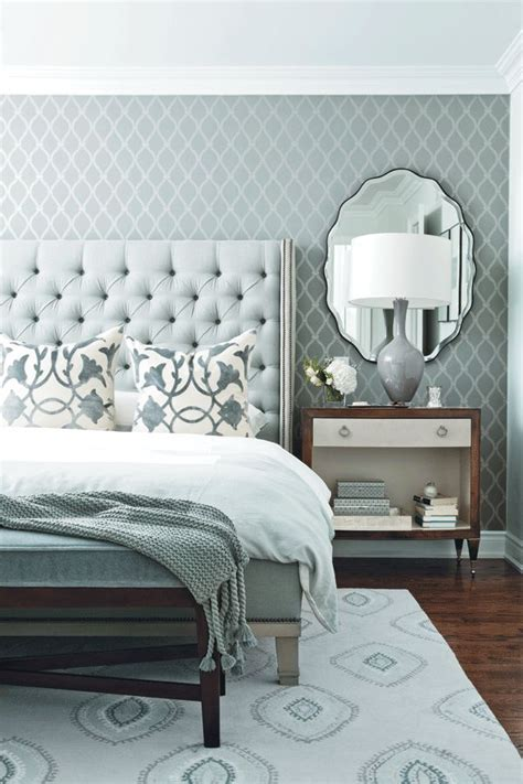 blue grey bedroom colour scheme monochromatic rooms homedesignboard