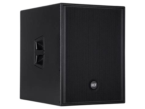 Speaker Rcf 18 Inch Subwoofer rcf 4pro 8003 as vented high output active 1000 watt 18