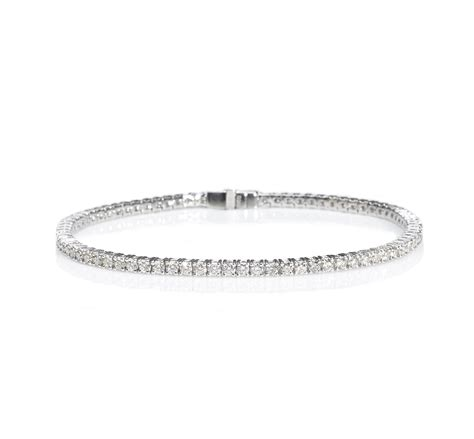 18ct white gold tennis bracelet 18ct white gold tennis bracelet jewellery discovery