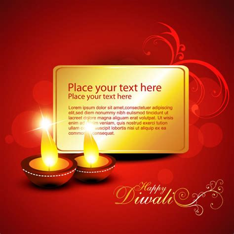 diwali html format greetings india diwali elements backgrounds vector 02 over