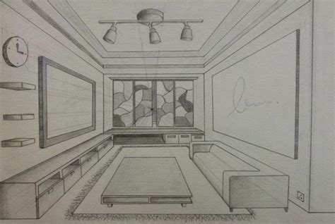interior design drawings perspective www imgkid