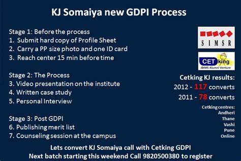 Kj Somaiya Mba Registration by Kj Somaiya Gd Pi Workshop