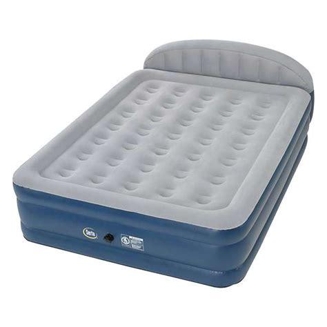 serta 18 inch raised headboard sleeper air mattress 98502216