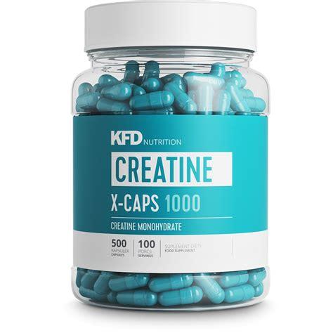 creatine x 5 kfd creatine x caps 500 kapsułek