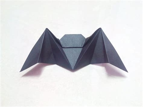 Folding Origami Paper Crafts - free coloring pages how to make an origami paper bat