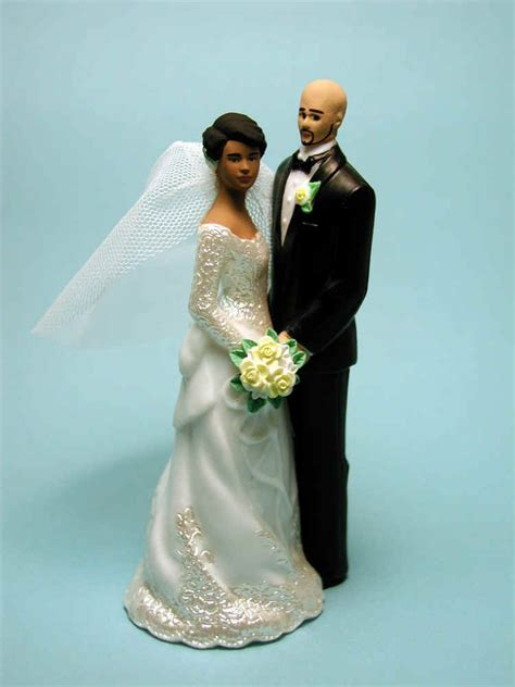 Wedding Cake Exles by Wedding Cake Topper With Bald Groom Wedding Cake Toppers