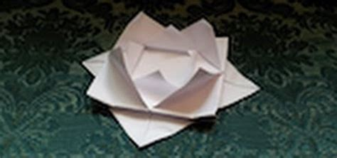 How To Make Paper Lilies - how to make an origami water 171 origami wonderhowto