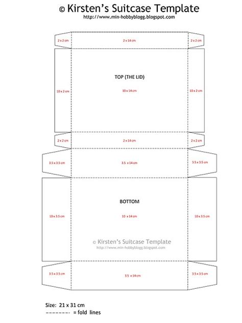 template for printing a card on 10x7 paper suitcase template for a suitcase out of craft paper