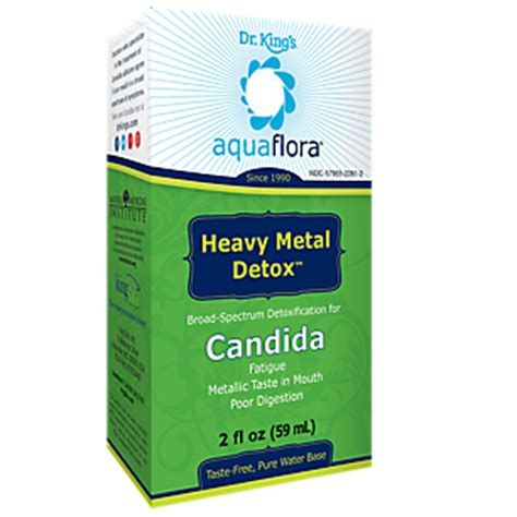 King Bio Heavy Metal Detox by Candida Heavy Metal Detox 2 Fluid Ounces Spray By King