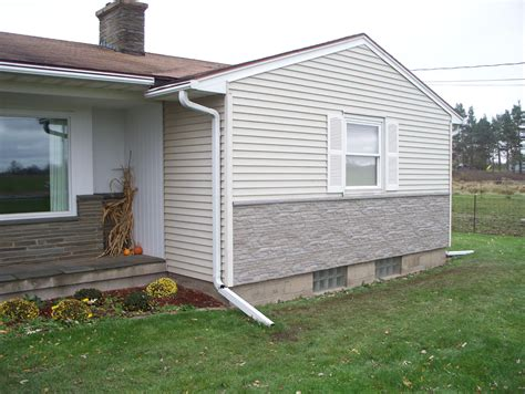 how to install rock siding for houses stone look siding to the rescue creative faux panels