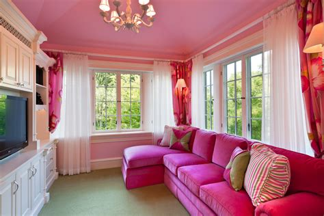 Pink Sofa Living Room Pink Sofa Mode Philadelphia Traditional Living Room Inspiration With Bedroom Sitting