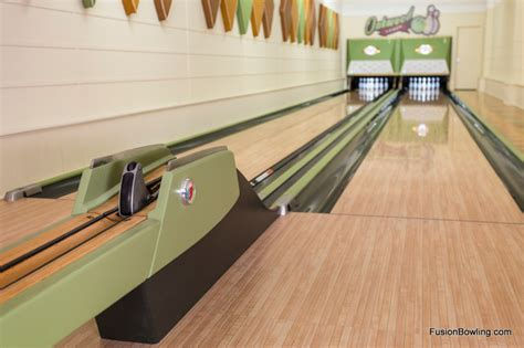 living room lanes bowling set vintage 1950s equipment restored for retro home bowling alley midcentury living room
